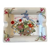 Image of Gucci Bouquet Ashtray/ Catchall For Sale