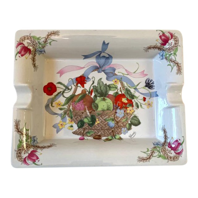 Gucci Bouquet Ashtray/ Catchall For Sale