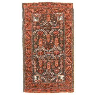 Antique Persian Baluch Rug-2′7″ × 4′7″ For Sale