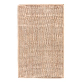 Jaipur Living Adesina Natural Solid Beige Area Rug - 9′ × 12′ For Sale