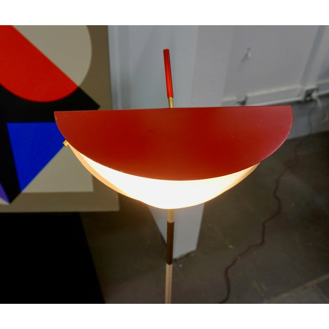 Italian MCM Italian Floor Lamp For Sale - Image 3 of 8