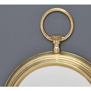 French Brass Vintage Pocket Watch Mirror Preview