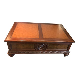 """Ethan Allen """"Morley"""" Coffee Table For Sale"""