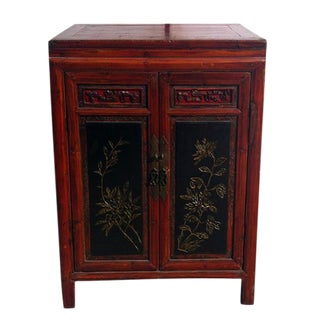 Asian Style Two Shelve Cabinet