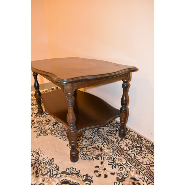 Early 20th Century Imperial Antique Mahogany Accent Table For Sale - Image 5 of 8