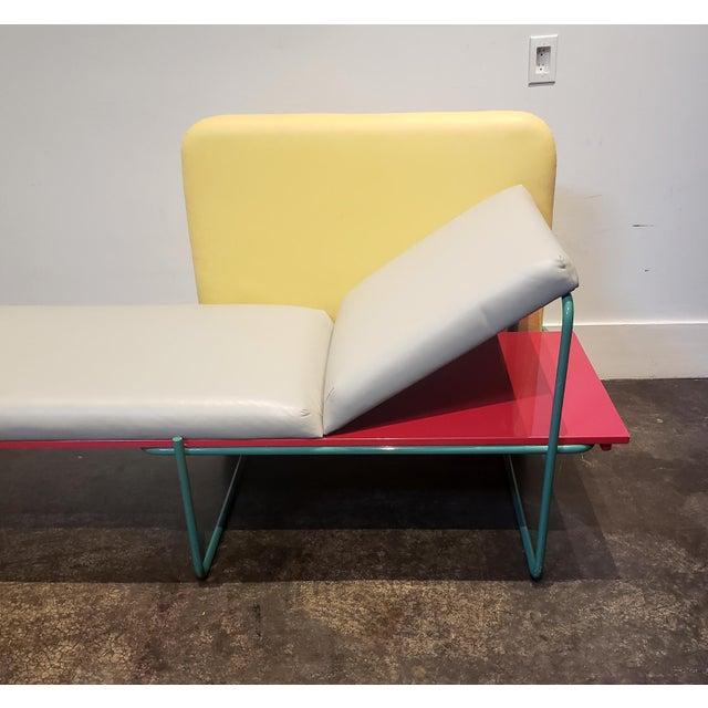 "1980s Memphis Milano Limited Edition ""Century"" Sofa by Andrea Branzi Circa 1982 For Sale - Image 5 of 13"