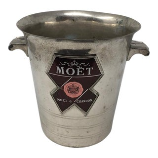 Vintage Moet & Chandon Champagne Cooler For Sale