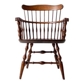 Vintage Nichols & Stone Windsor Arm Chair For Sale