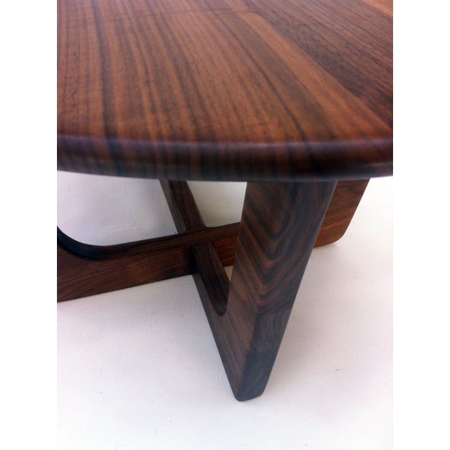 Pearsall Style Walnut Kidney Bean Cocktail Table - Image 5 of 6