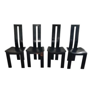 Vintage 1970s Pietro Costantini for Ello Dining Chairs - Set of 4 For Sale