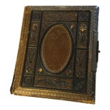 Image of Antique Victorian Picture Album For Sale