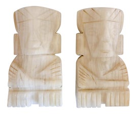 Image of Alabaster Bookends