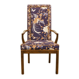 Heritage Asian Tai Ming Collection Dining Arm Chair For Sale