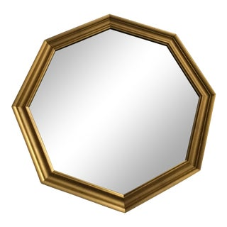 Stroupe Mirror Company Octagon Wall Mirror For Sale