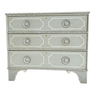 Somerset Bay Faux Bamboo Chest of Drawers For Sale