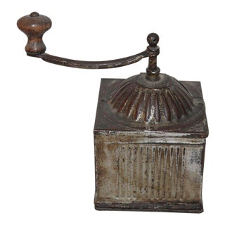 "19th Century Original Painted ""Elma"" Coffee Grinder For Sale"
