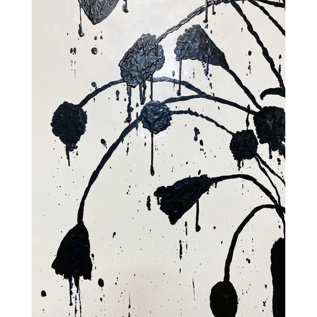 "FORSYTH Exclusive John O'Hara ""Botanical, 10"" Encaustic Paintings (2-Panel) For Sale - Image 4 of 8"