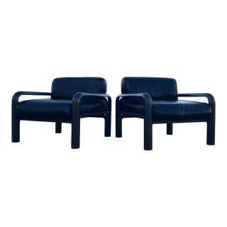 1970s Vintage Gae Aulenti for Knoll Chairs - A Pair For Sale