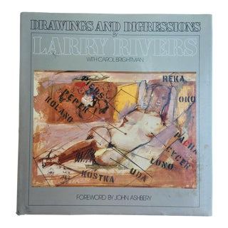 Larry Rivers: Drawings and Digressions Book For Sale