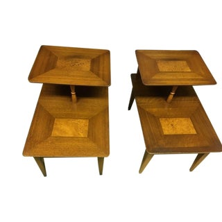 1950s Mid-Century Modern Lane End Tables - a Pair For Sale