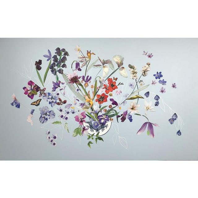 "Marcy Cook ""Umbrian Light"" Original Fine Art Collage For Sale"