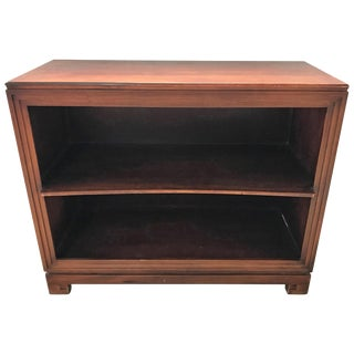 Pair of Paul Frankl Petite Mahogany Bookcases for Johnson Furniture Co. For Sale