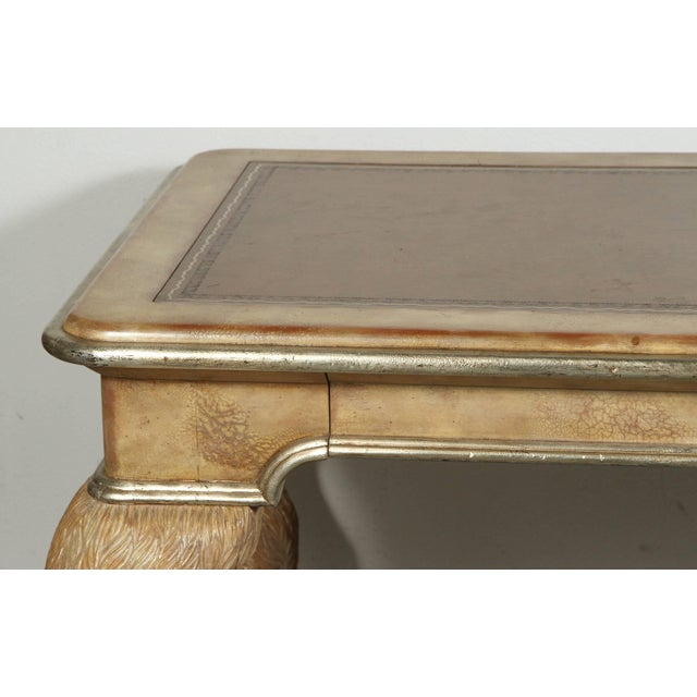 Mid-Century Modern Opulent Classic Style Desk by Maitland-Smith For Sale - Image 3 of 10