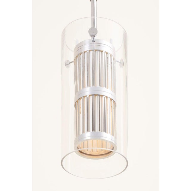 Metal 1960s Pendant Lamp in Manner of Hans Agne Jakobsson For Sale - Image 7 of 12
