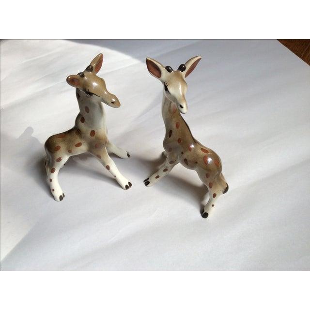 Giraffe Figurines - A Pair - Image 3 of 8