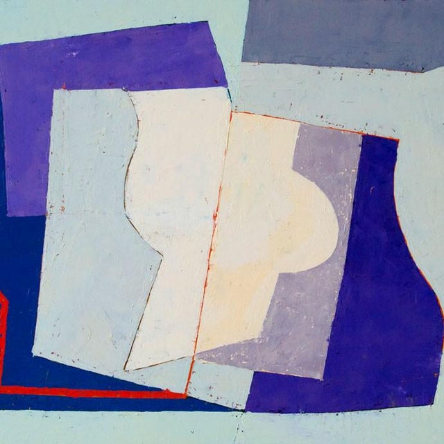 "Abstract Jeremy Annear ""Counterpoint (Harbour)"", Painting For Sale - Image 3 of 4"