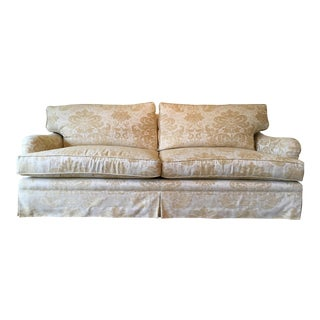 Custom Made English Arm Sofa For Sale