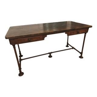 Iron & Wood Desk