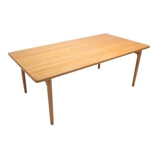 Scandinavian Modern Dining Table in Oak by N.0. Möller for j.l. Moller For Sale