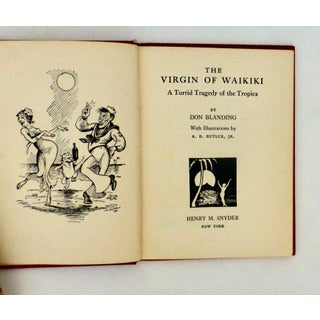 1933 The Virgin of Waikiki Book by Don Blanding Preview