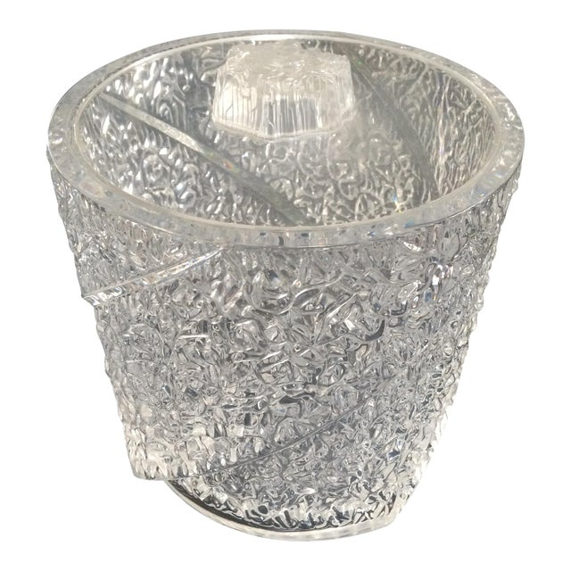 Vintage Lucite Ice Bucket - Image 1 of 10