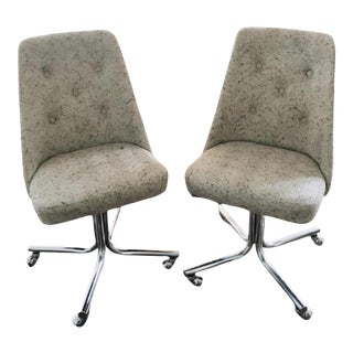 1970s Vintage Office Chairs - a Pair For Sale