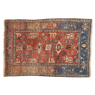 "Vintage Bijar Rug - 4'10"" X 7' For Sale"