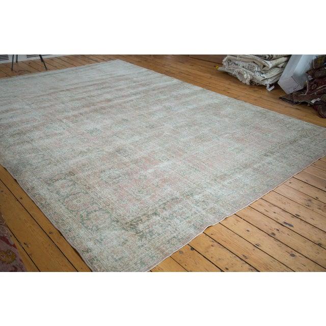 "Distressed Oushak Carpet - 9' X 12'1"" - Image 2 of 10"