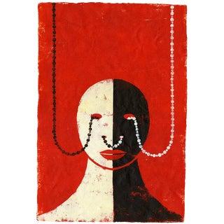 Edel Rodriguez La Pearla Contemporary Painting For Sale