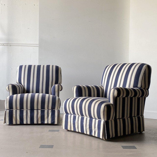 Textile Late 20th Century Bridgewater Chairs - a Pair For Sale - Image 7 of 7
