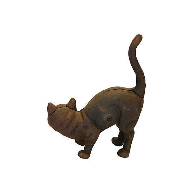 Vintage Cast Iron Cat Doorstop - Image 4 of 7