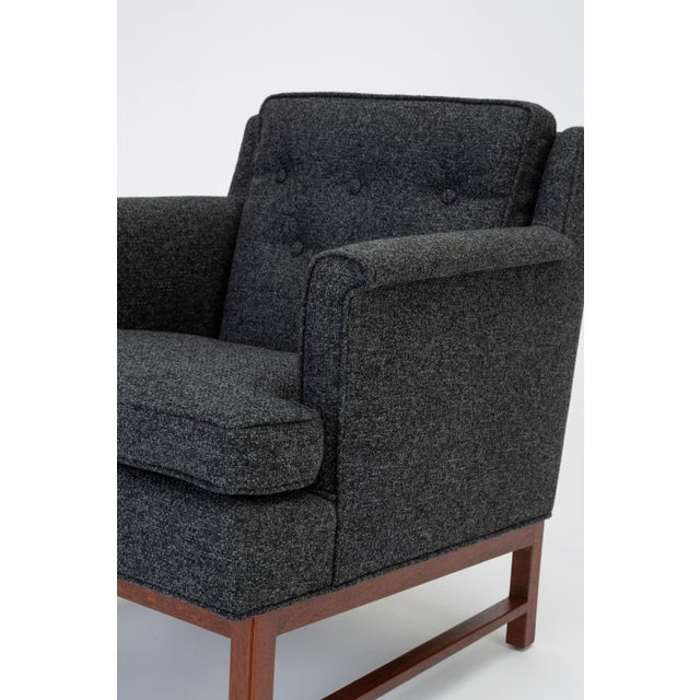 Pair of Petite Lounge Chairs by Edward Wormley for Dunbar For Sale - Image 10 of 13