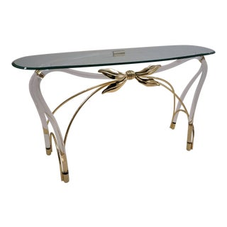Jeff Messerschmidt Style Console Table For Sale