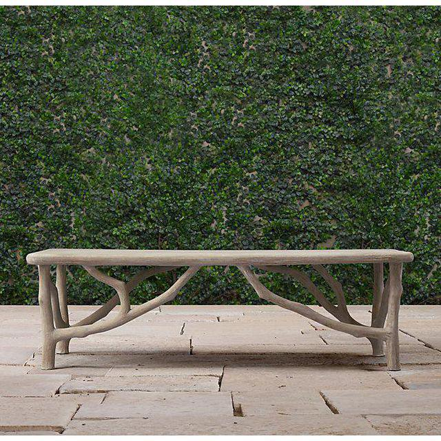 Restoration Hardware French Coffee Table: Restoration Hardware Faux Boise Arboretum Coffee Table