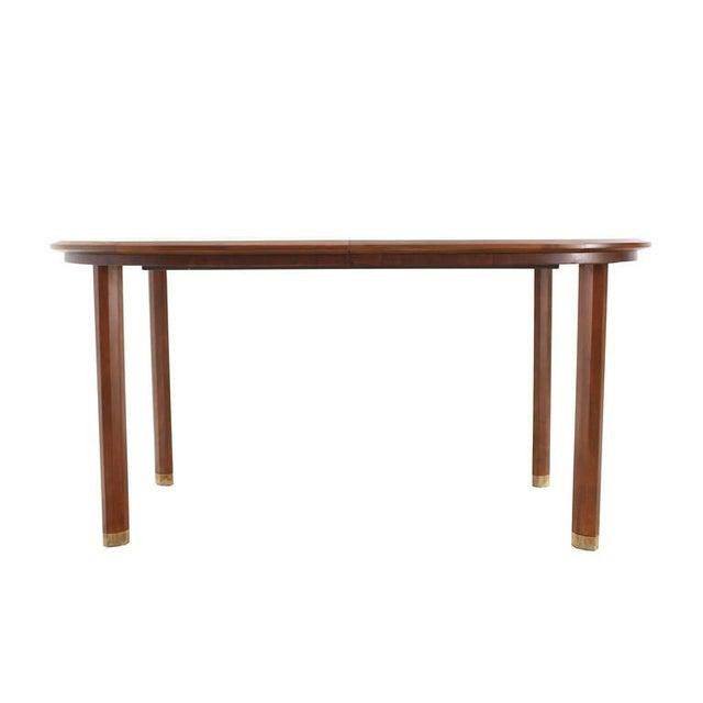 Wood Vintage Mid-Century Edmond Spence Dining Table For Sale - Image 7 of 9