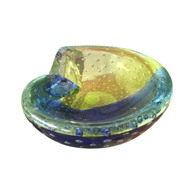 1960s Venini Murano Art Glass Ash Tray - Image 1 of 8