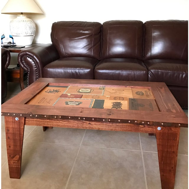 Cigar Box Coffee Table - Image 10 of 11