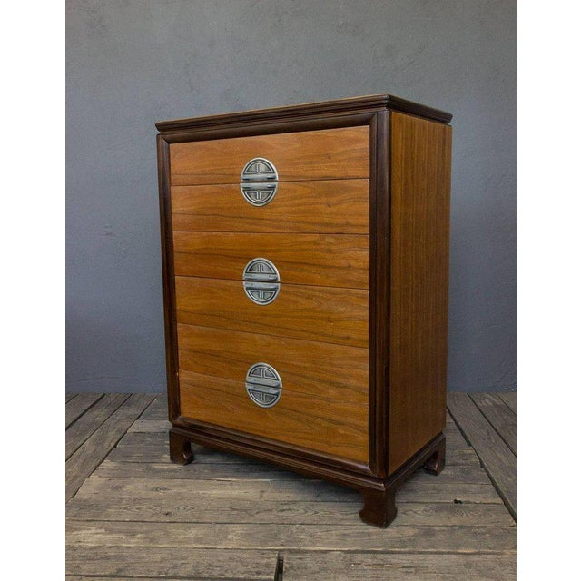 "American Midcentury ""chinese-modern"" Chest of Drawers - Image 2 of 9"