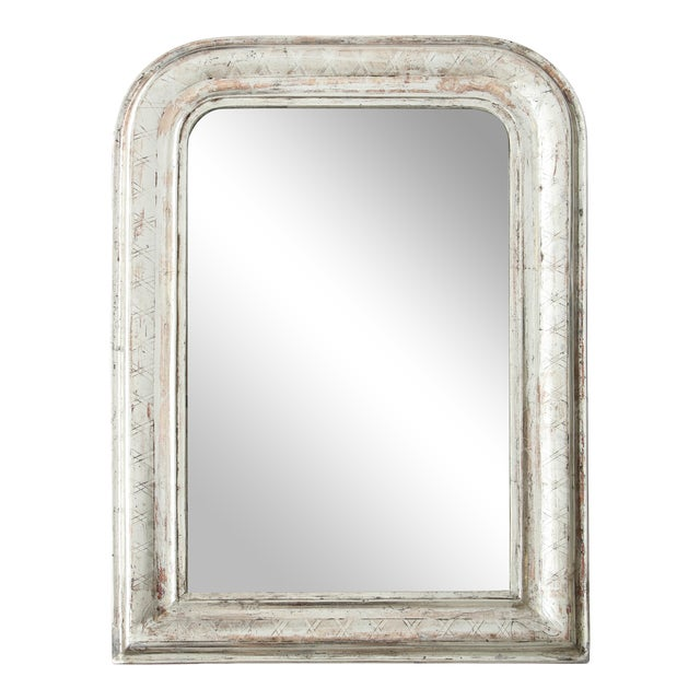 Louis Philippe Silvered Mirror For Sale