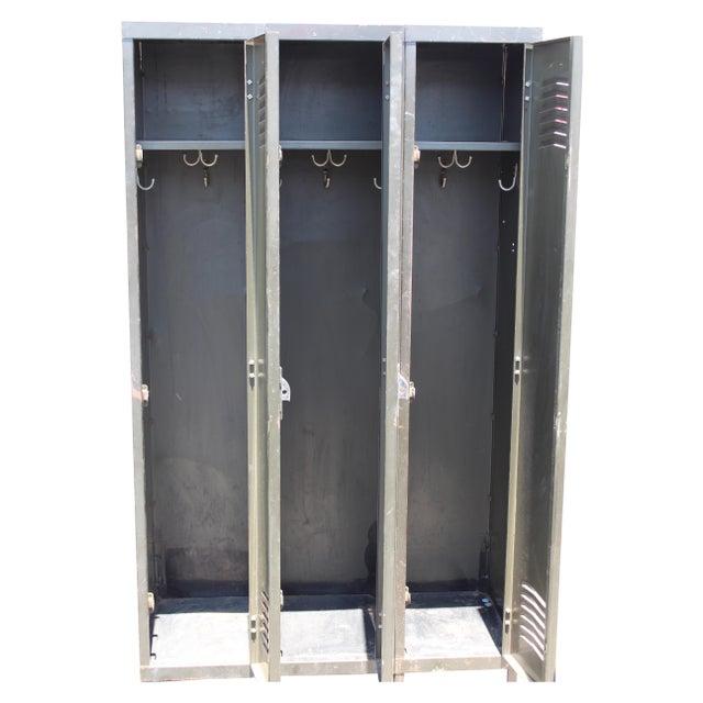 Vintage Metal Lockers For Sale - Image 4 of 10